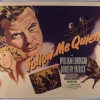 Noirvember:  <i>Follow Me Quietly</i>
